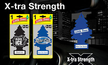{Little Tree Fresheners X-tra Strength}